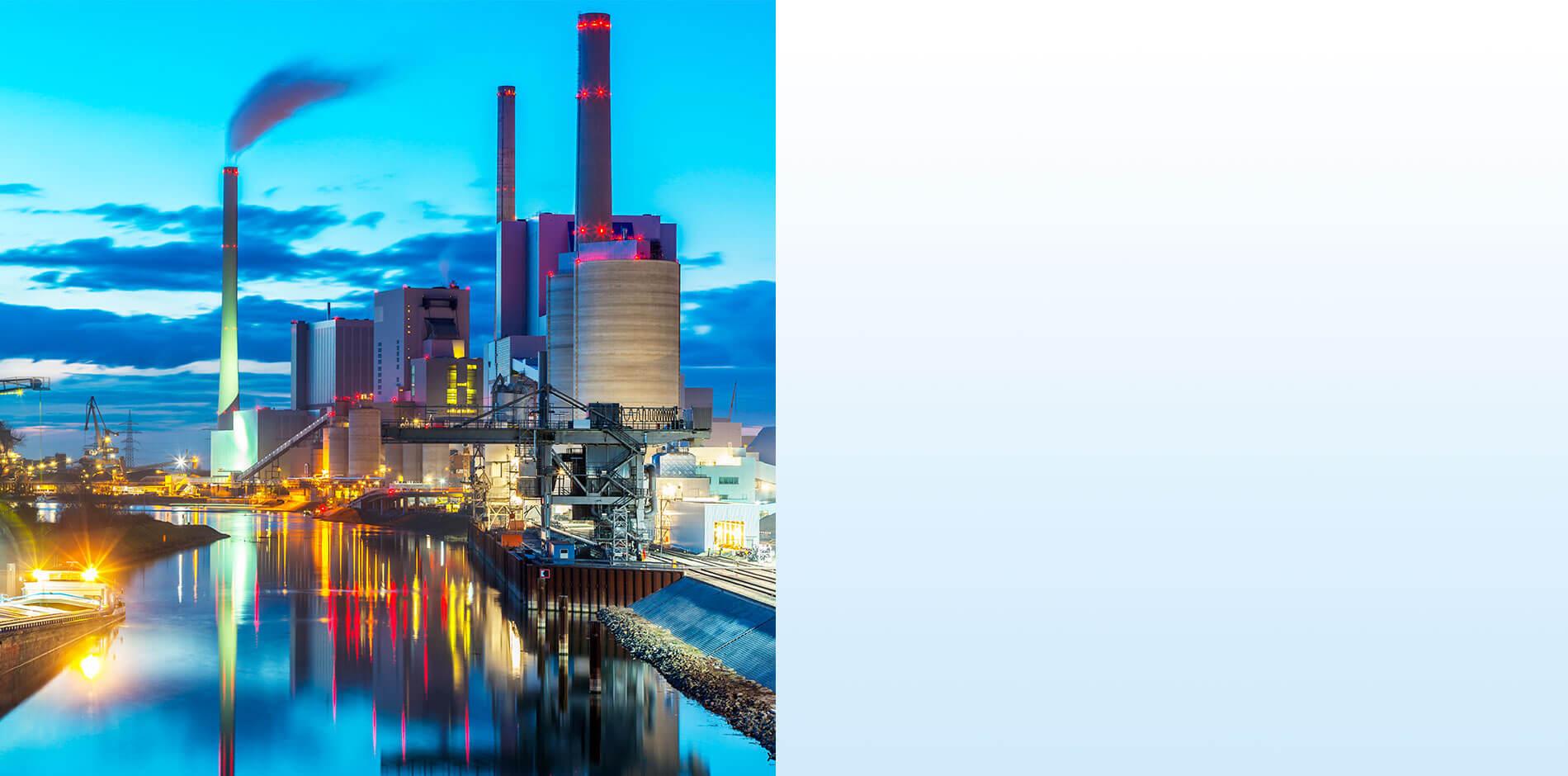 الكفاءة في الطاقة والمياه: محطات توليد الطاقة والصناعة